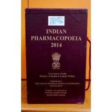 Indian Pharmacopoeia-2014 (in 4 Volumes) along with DVD