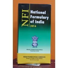 National Formulary of India (NFI) – 2016